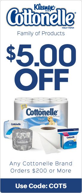 $5.00 off any Contonelle brand orders $200 or more