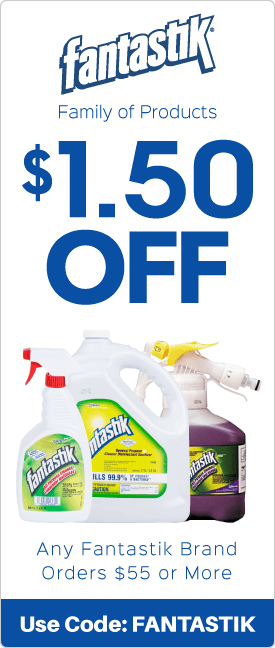 $1.50 off any Fantastik brand orders $55.00 or more