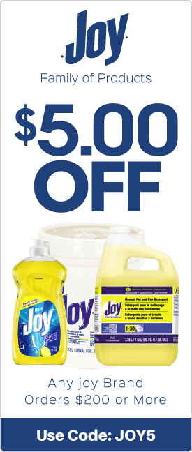 $5.00 off any Joy brand orders $200 or more
