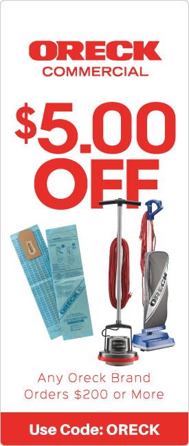 $5.00 off any Oreck brand orders $200 or more