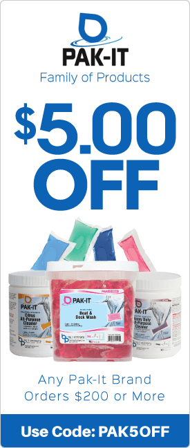 $5.00 off any Pak-It brand orders $200 or more