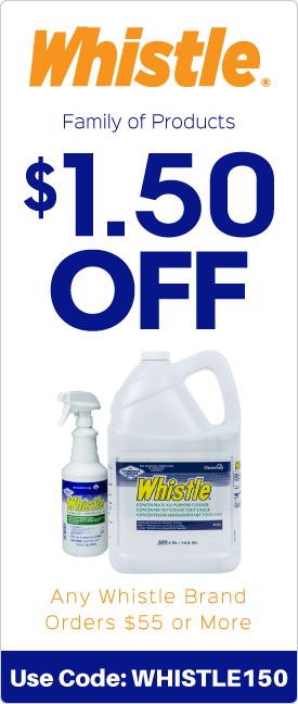 $1.50 off any Whistle brand orders $55.00 or more