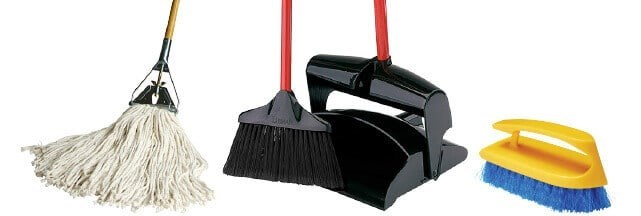 Mops, Brooms, Brushes, etc