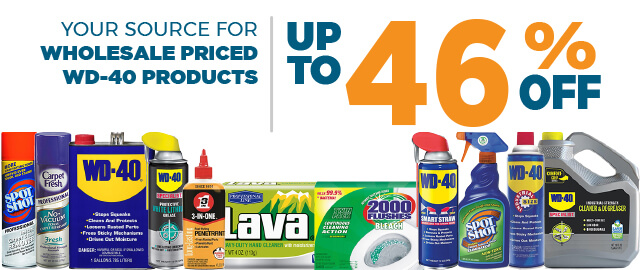 WD-40 Products Savings